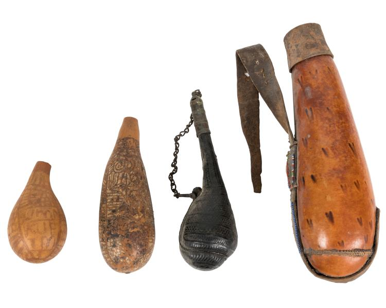 African Gourd Vessels