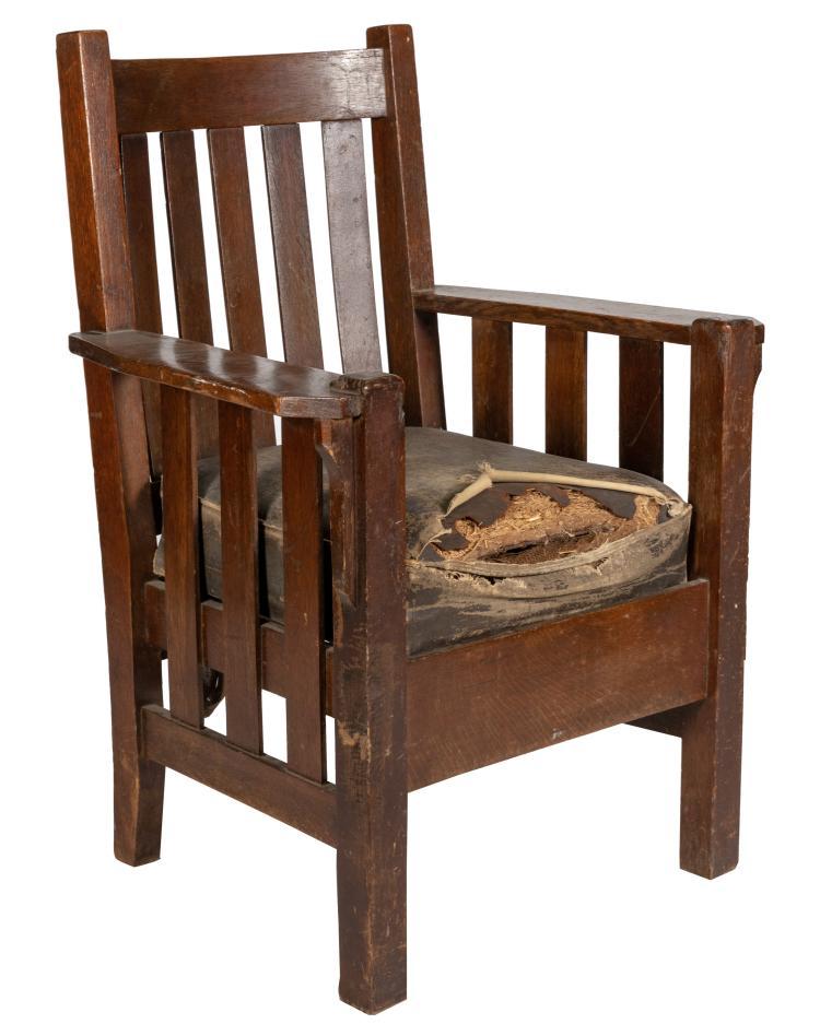 Mission Oak Arm Chair