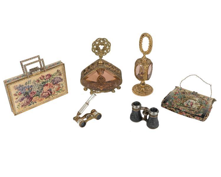 Perfume Bottles, Handbags, Opera Glasses