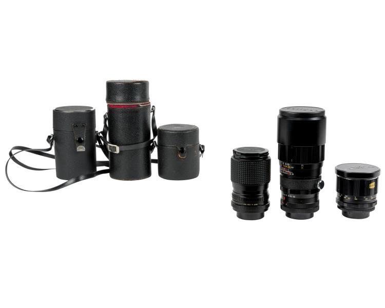 Group Japanese Camera Lenses
