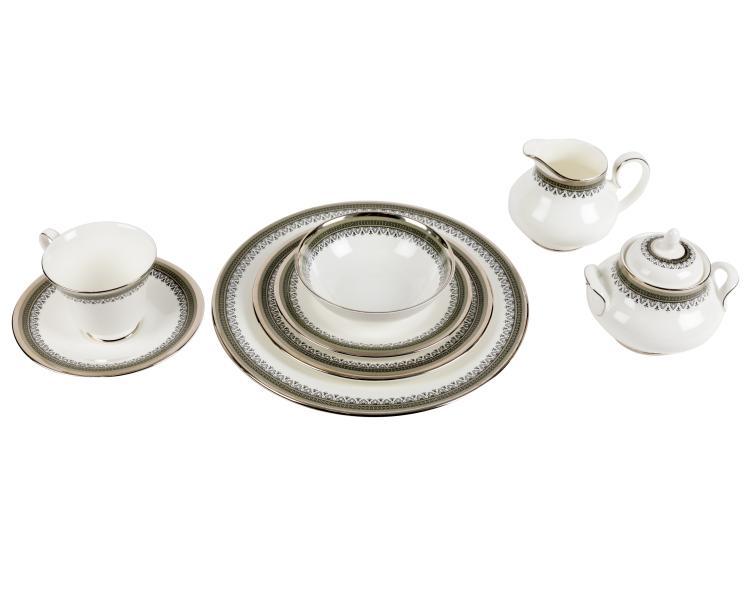 Royal Doulton Braemar Dinner Service - 98 Pieces
