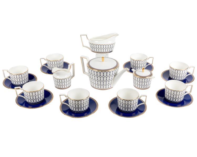Wedgwood Renaissance Gold Tea Service - 20 Pieces