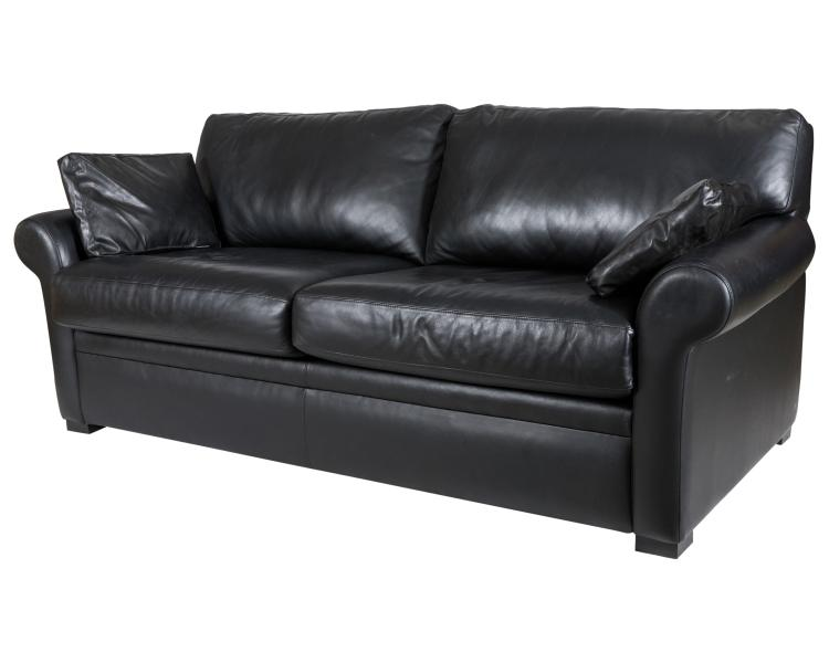 American Leather Co. Leather Sofa