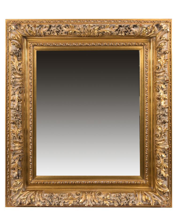 Carved Gilt Wood Mirror
