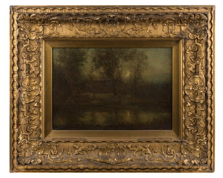 Homer Dodge Martin - Oil on Canvas
