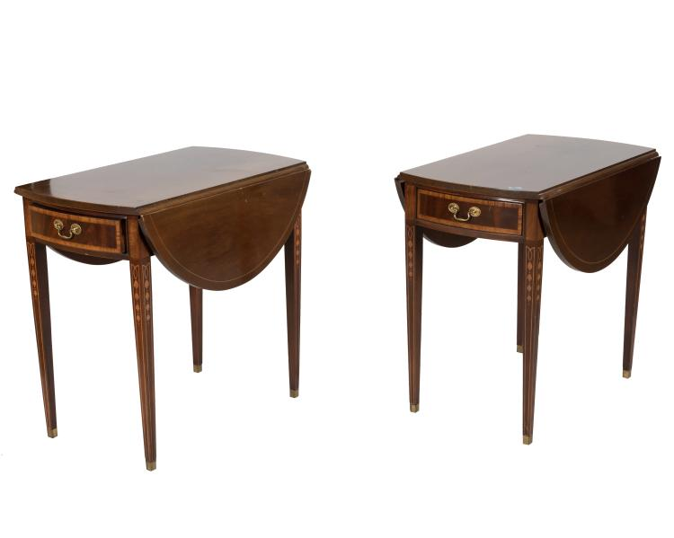 Hickory Masterpiece Collection Pembroke Tables