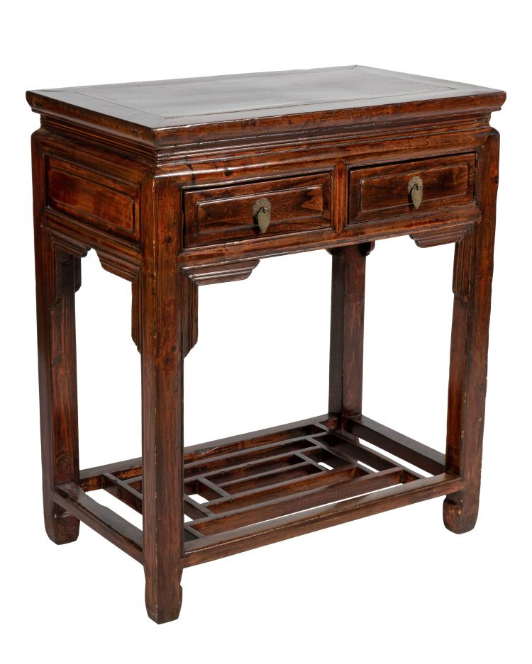 Oriental Two Drawer Stand