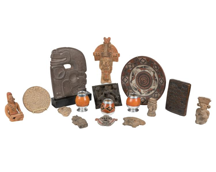 South American and South Asian Artifacts