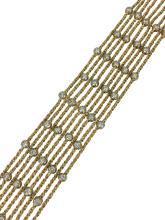 Yellow & White Gold Diamond Bracelet