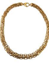 Unique 18k Gold Necklace