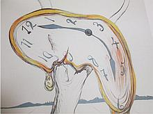 Salvador Dali- Melting Clock