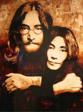 Shepard Fairey - John & Yoko