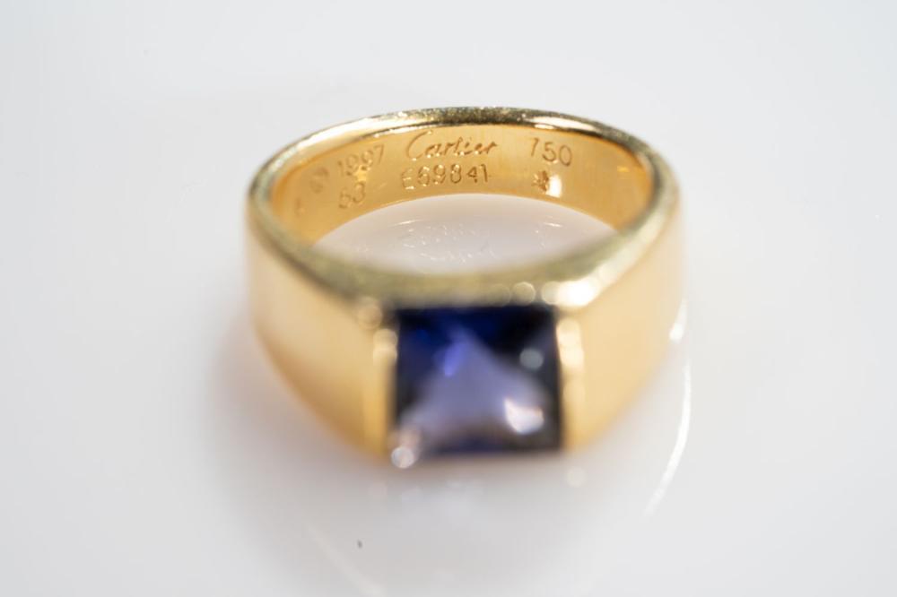 Estate 18KT Cartier Amethyst Ring