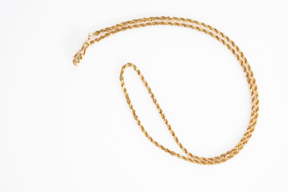 "14KY Italian Rope Chain 18"""