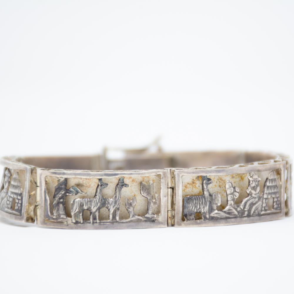 Vintage Peruvian Bracelet