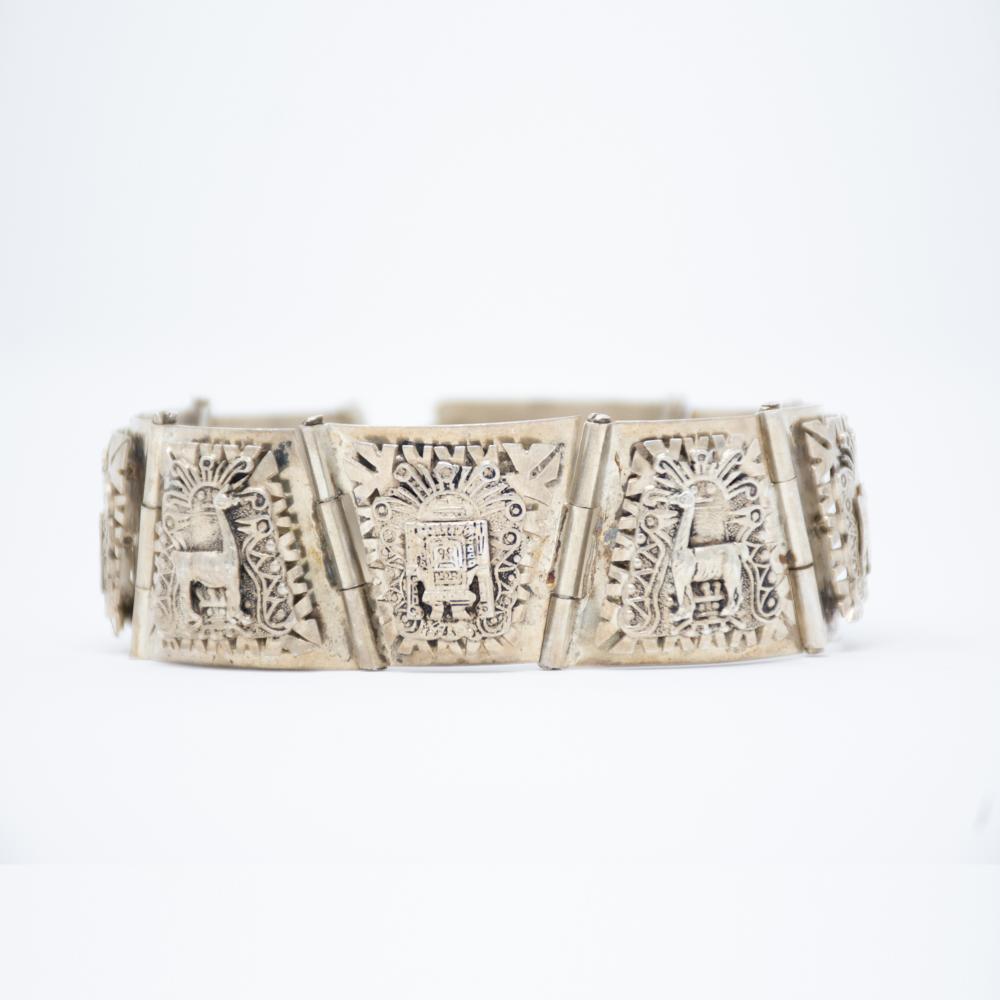 Vintage Peruvian Mens bracelet