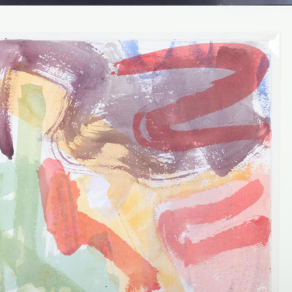"""Stephen Pace, (American, 1918-2010), untitled, 1964, watercolor on paper, 28""""H x 21""""W (image) 35""""H x 37""""W (frame)"""