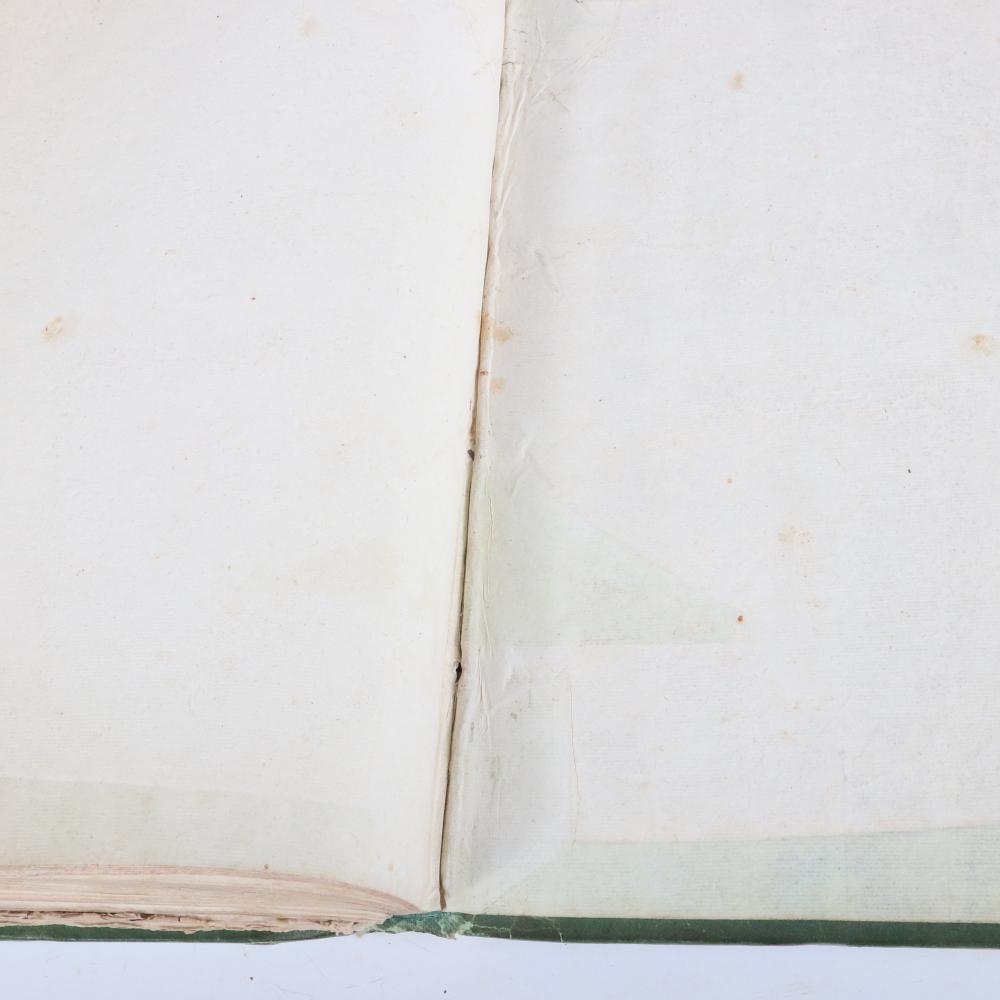 """Oedipe A Colone, Opera en trois Actes, Mis en Musique, Par A. Sacchini, Chez Imbault, A Paris, A.P.D.R, 1787, with Maestro Leppard's hand written additional score notes. 2""""H x 10""""W x 14 1/2""""D"""