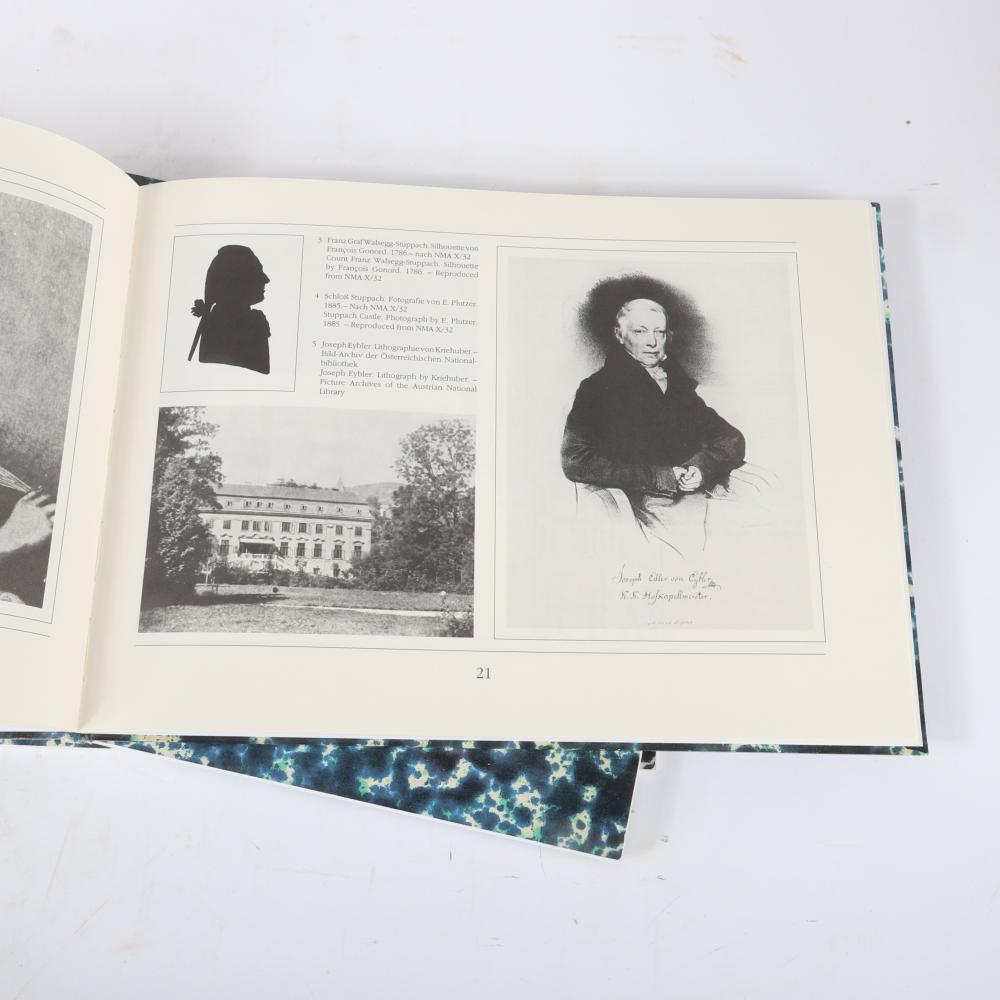"""Wolfgang Amadeus Mozart Requiem. KV 626. Vollständige Faksimile-Ausgabe im Originalformat der Originalhandschrift in zwei Teilen nach Mus. 1990 1 1/2""""H x 13""""W x 10""""D (boxed set)"""