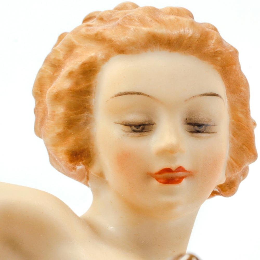 Early Hutschenreuther Porcelain Nude Sculpture After the