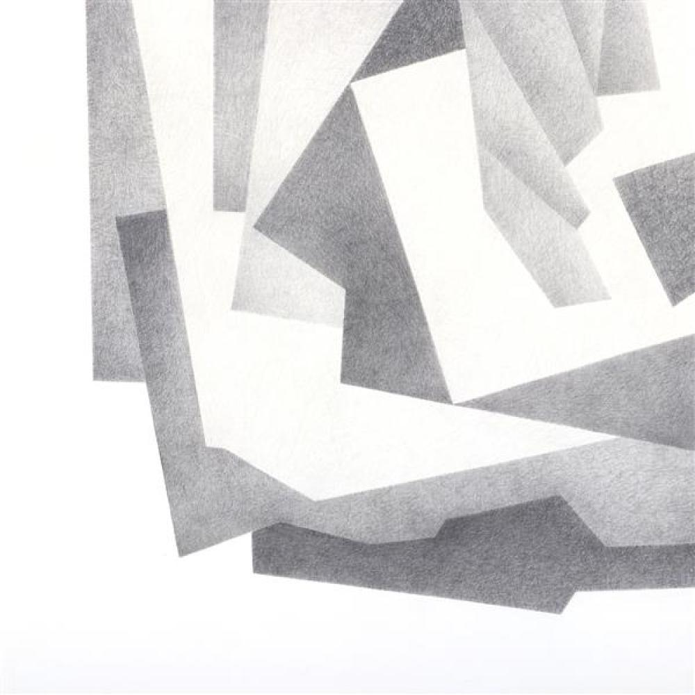 Erwin Kalla, (Pennsylvania, 1935-2005), untitled, pencil / graphite on paper, 37 1/4