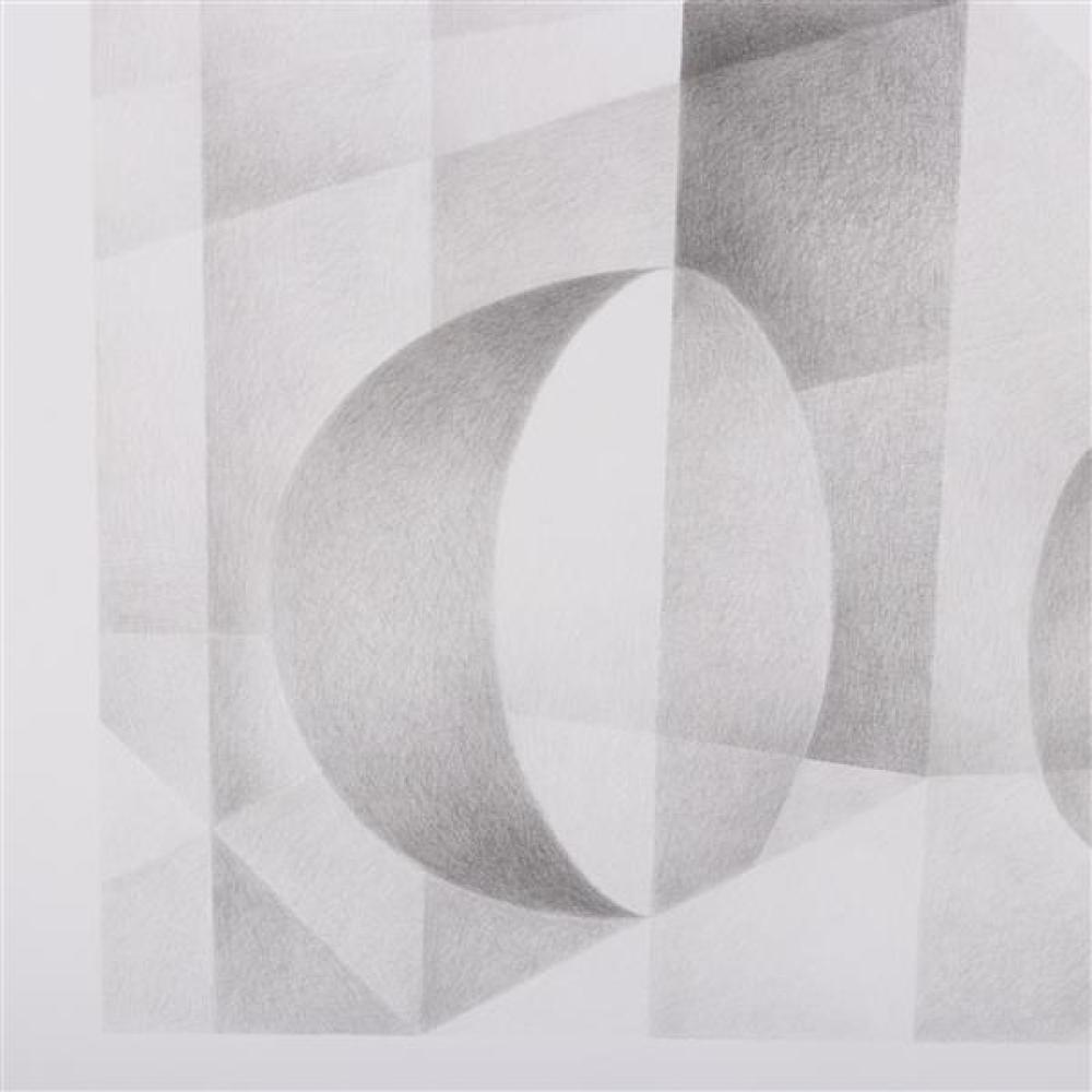 Erwin Kalla, (Pennsylvania, 1935-2005), untitled, 1996, pencil / graphite on paper, 21 1/4