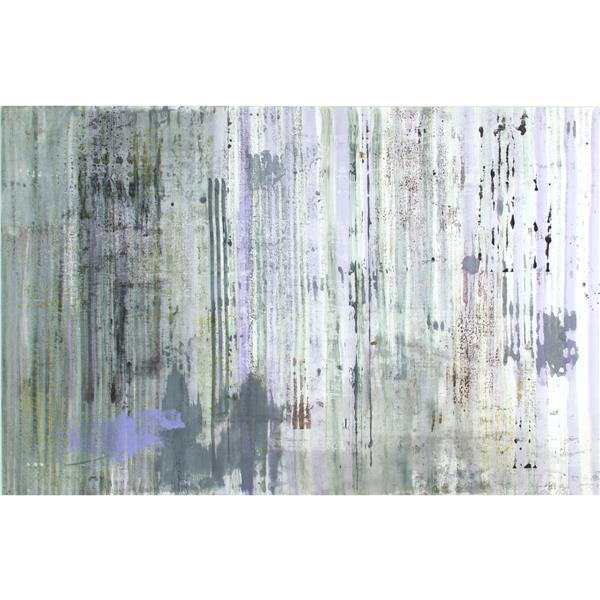 "Marthe Keller, (American, 20th Century), Zinker, mixed media on paper, 25 1/2""H x 38 1/2""W (sight), 32 1/2""H x 46""W (frame)"