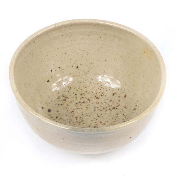 """Toshiko Takaezu, bowl, glazed ceramic, 3 1/2""""H x 6""""Diam"""