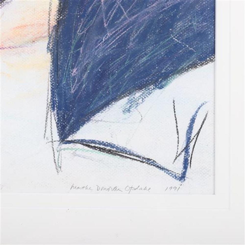 Martha Donovan Opdahl, (Santa Fe, 20th / 21st Century), Icarus #11, 1991, pastel on paper, 18 3/4