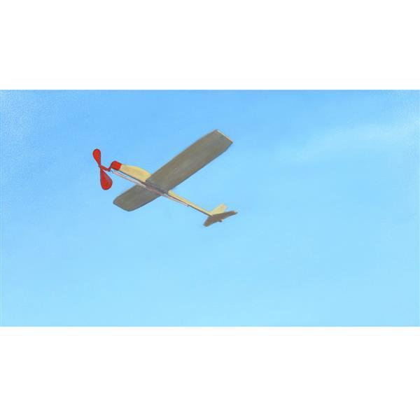 "Brian Myers, (Indianapolis, Indiana, 21st Century), 'Aeroplane #4' (glider), 2010, oil on canvas, 18 1/4""H x 32 1/4""W (sight), 19 1/."