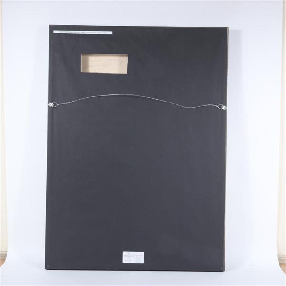 Susan Hall, (New York / California, b. 1943), Dream Journey, 1990, oil on canvas, 43 3/4