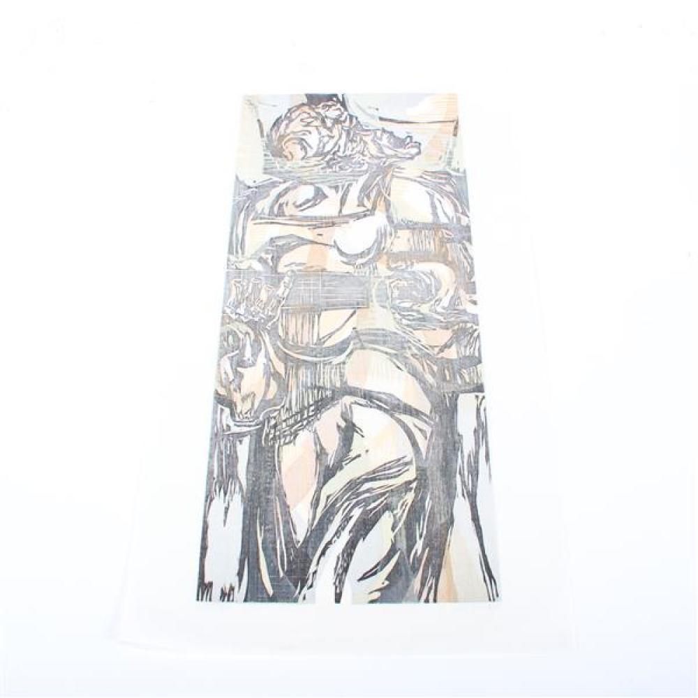 Mervin Jules, (American, 1912-1994), Folk Songs, 1957, color woodcut, 20 1/4
