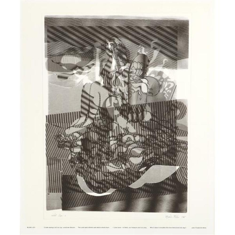 "Misch Kohn, (California / Indiana, 1916-2002), Lady Godiva, 1968, lithograph, 19""H x 13 1/2""W (print), 25 3/4""H x 21 3/4""W (sheet)"
