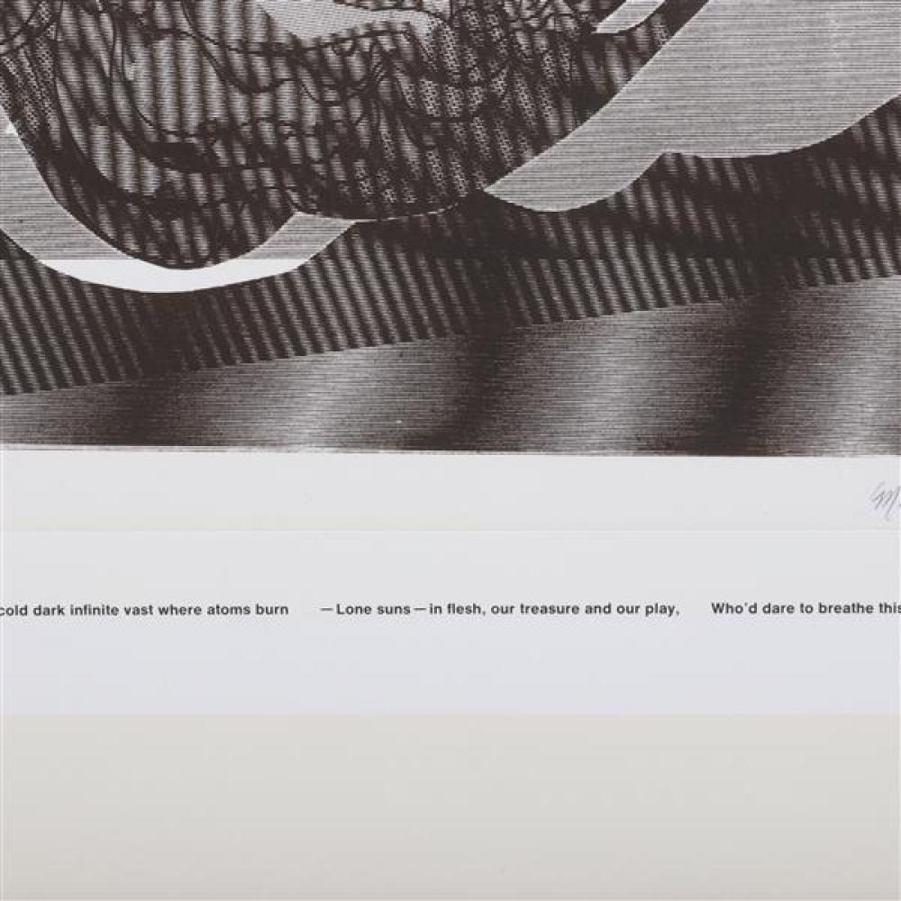 Misch Kohn, (California / Indiana, 1916-2002), Lady Godiva, 1968, lithograph, 19