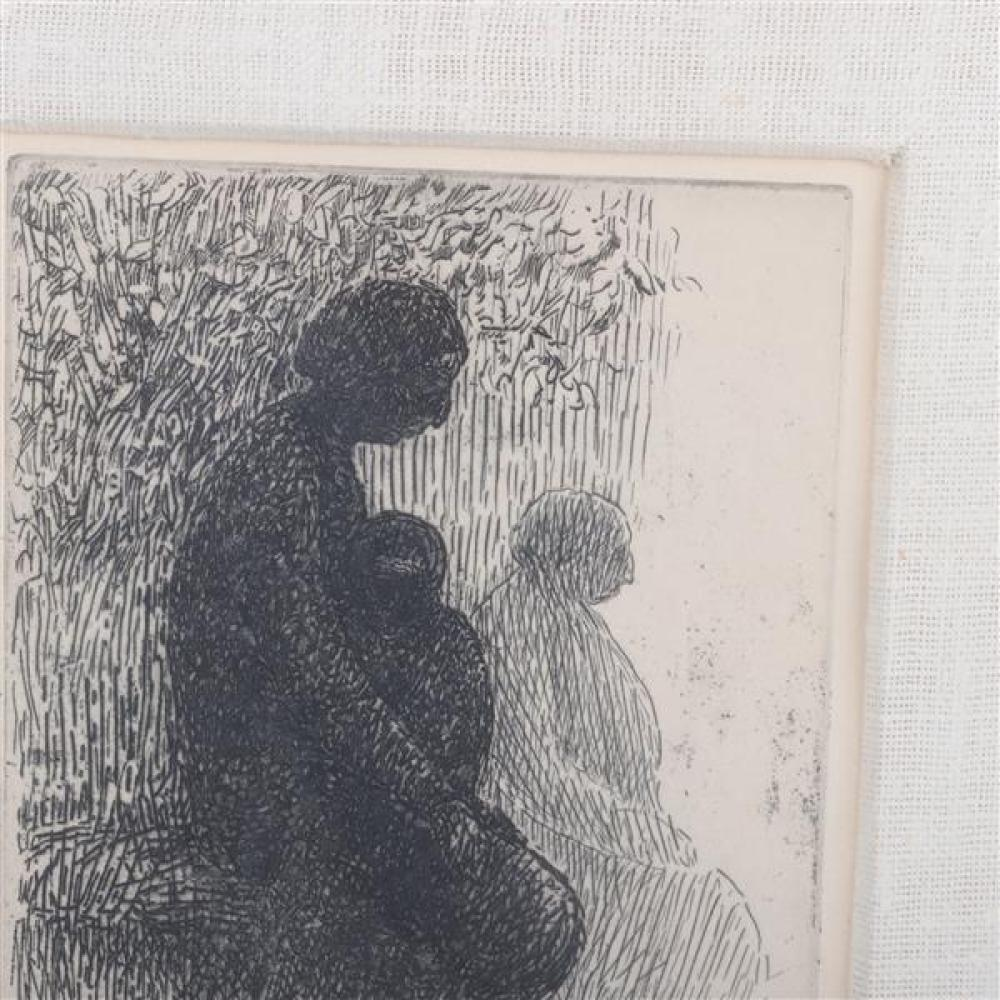 Harold Altman, (American, 1924-2003), Passage , etching, edition 20, 16 1/2