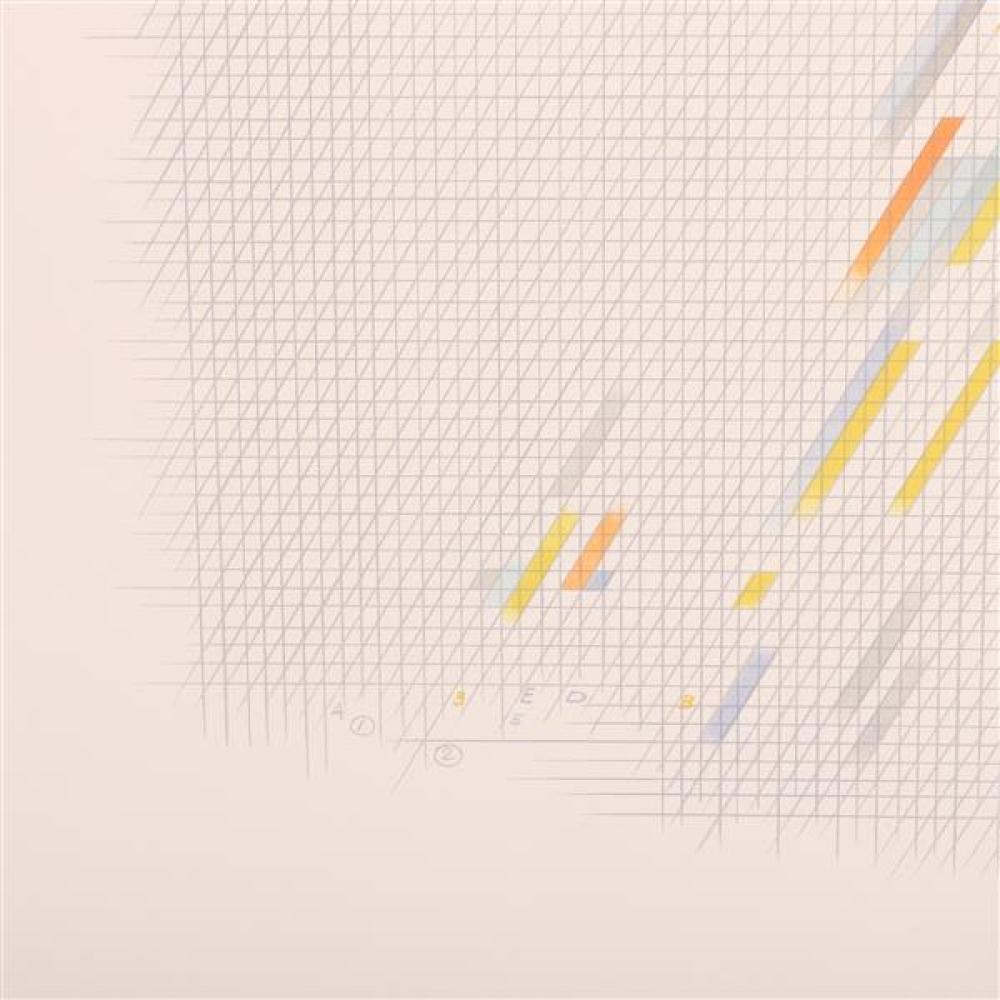 Garo Antreasian, (American, b.1922), Untitled, 1978, lithograph, 20 3/4