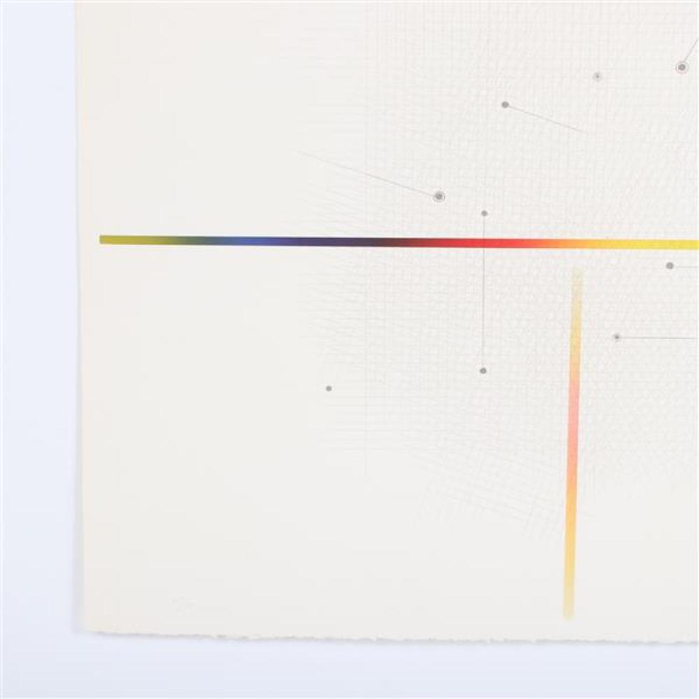 Garo Antreasian, (American, b.1922), Project I lithograph; Lakeside Studio, pub.; Paul Maguire Inc., prntr., 1977, lithograph, 20