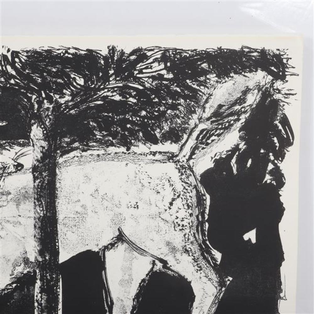 Rudy Pozzatti, (American, b.1925), Fox, 1964, lithograph, 20