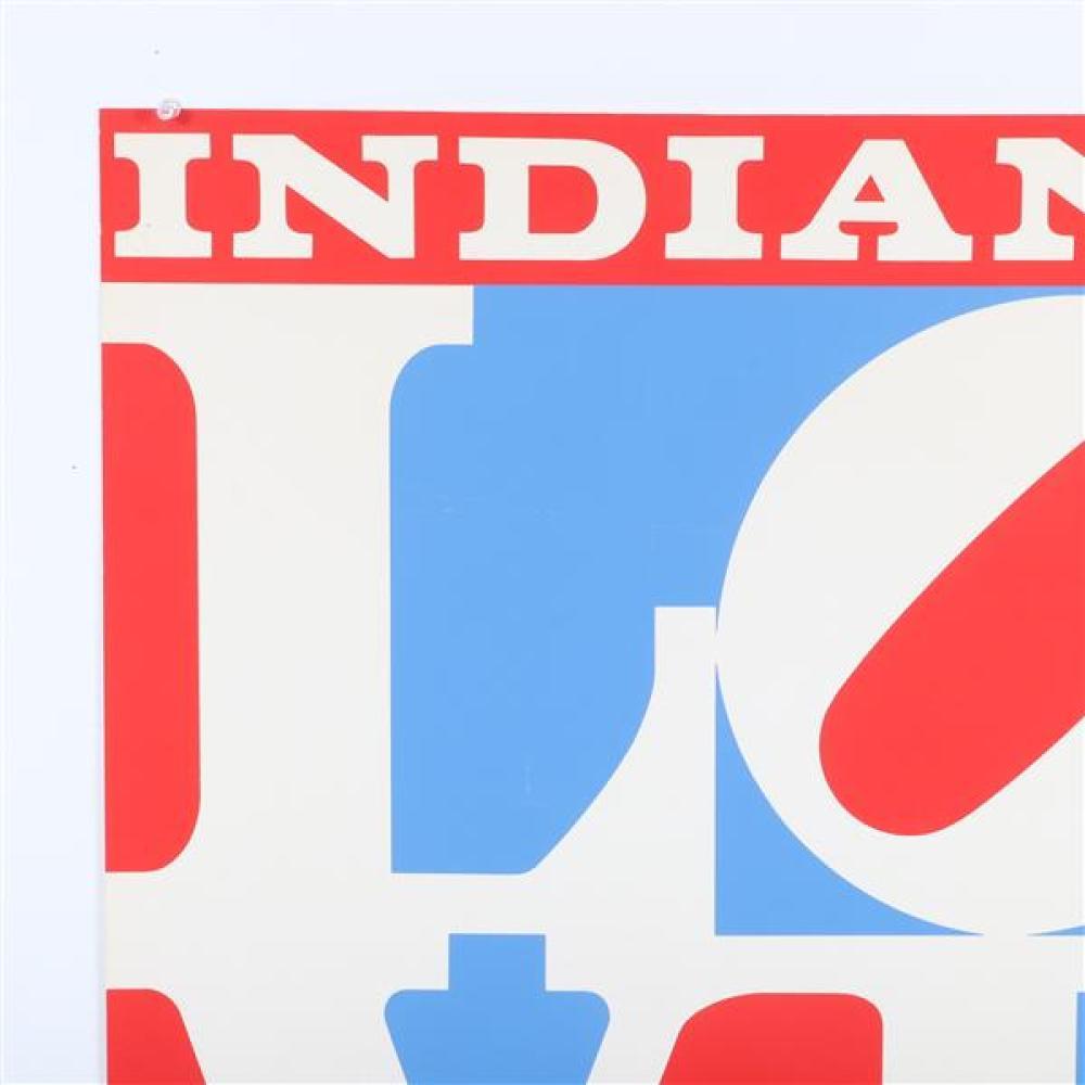 Robert E (Clark) Indiana, (Indiana, 1928-2018),