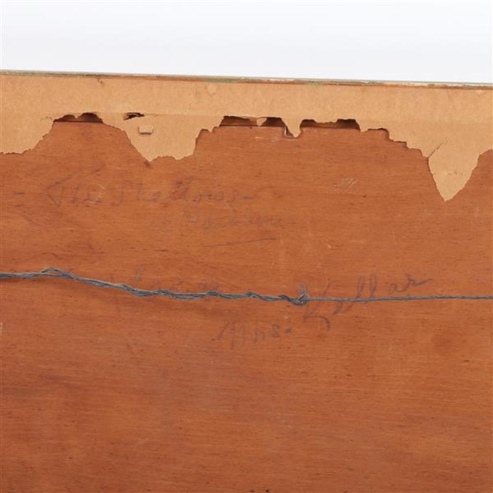 John Adrian Darley Dingle, (Canadian, 1911 - 1974), The Shallows, 1934, oil on panel, 10 1/4