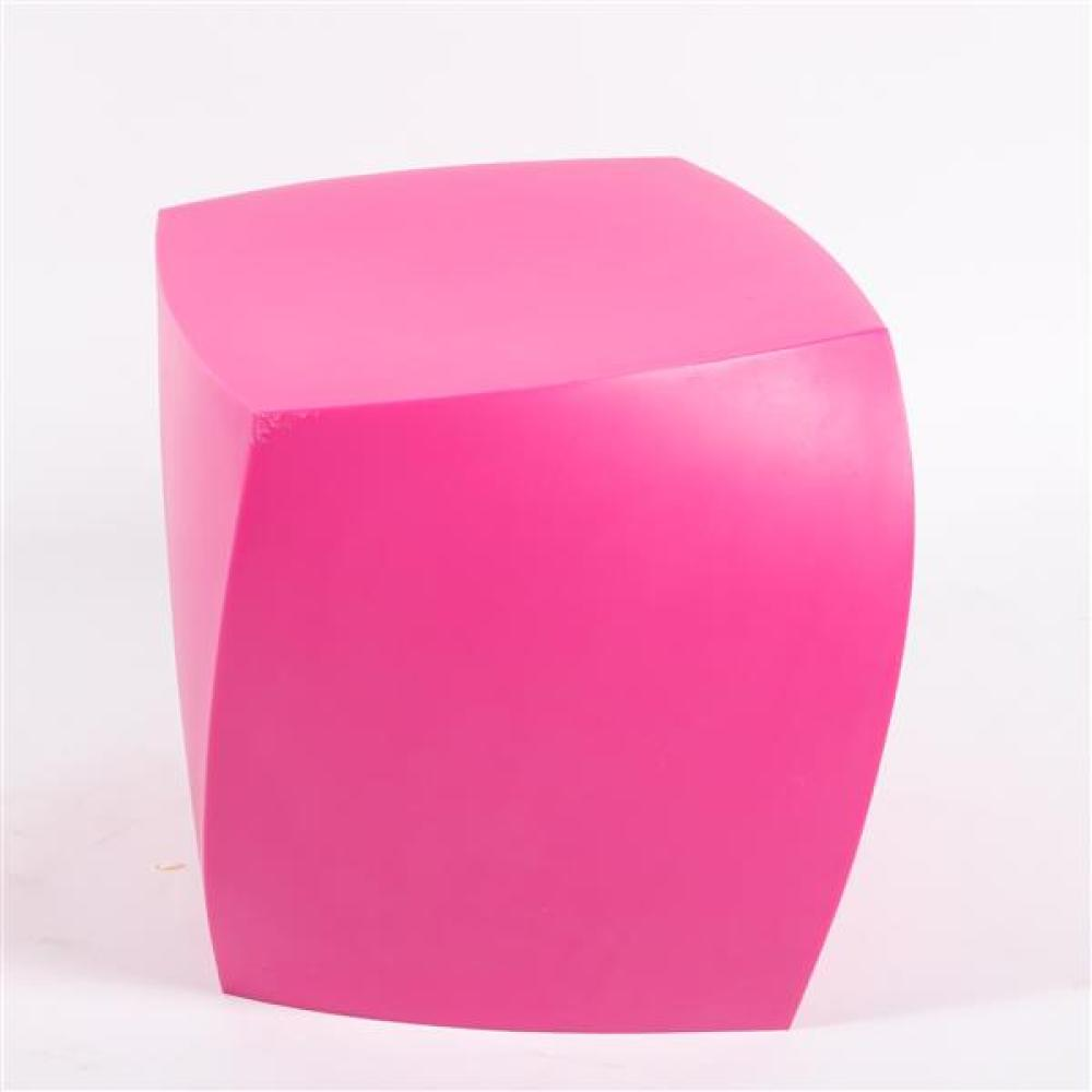Heller 'Twist Cube' side table designed by Frank Gehry.
