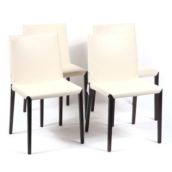 Set of 4 Zanotta 'Ada' dining chairs designed by Roberto Barbieri, 2007.