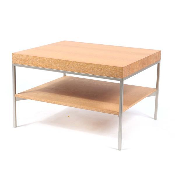 B&B Italia 'Apta' two tiered side table designed by Antonio Citterio.