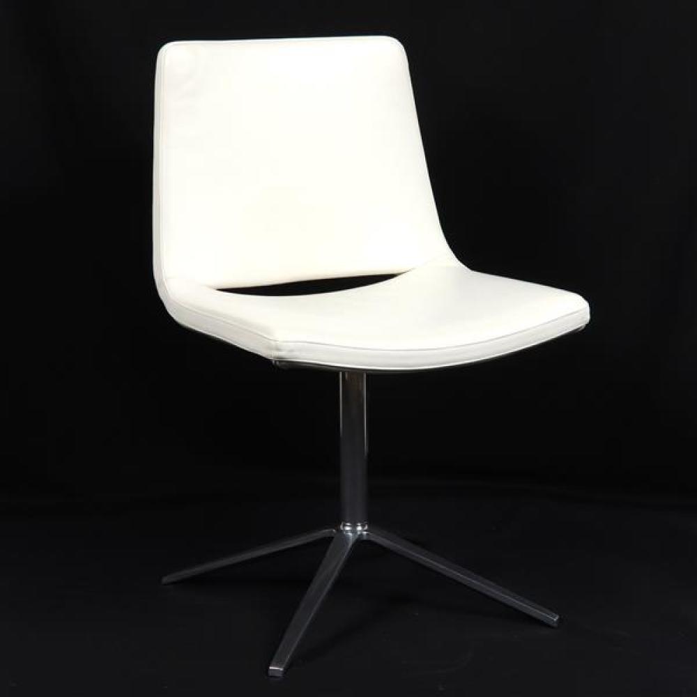 B&B Italia 'Metropolitan' side chair designed by Jeffrey Bernett.