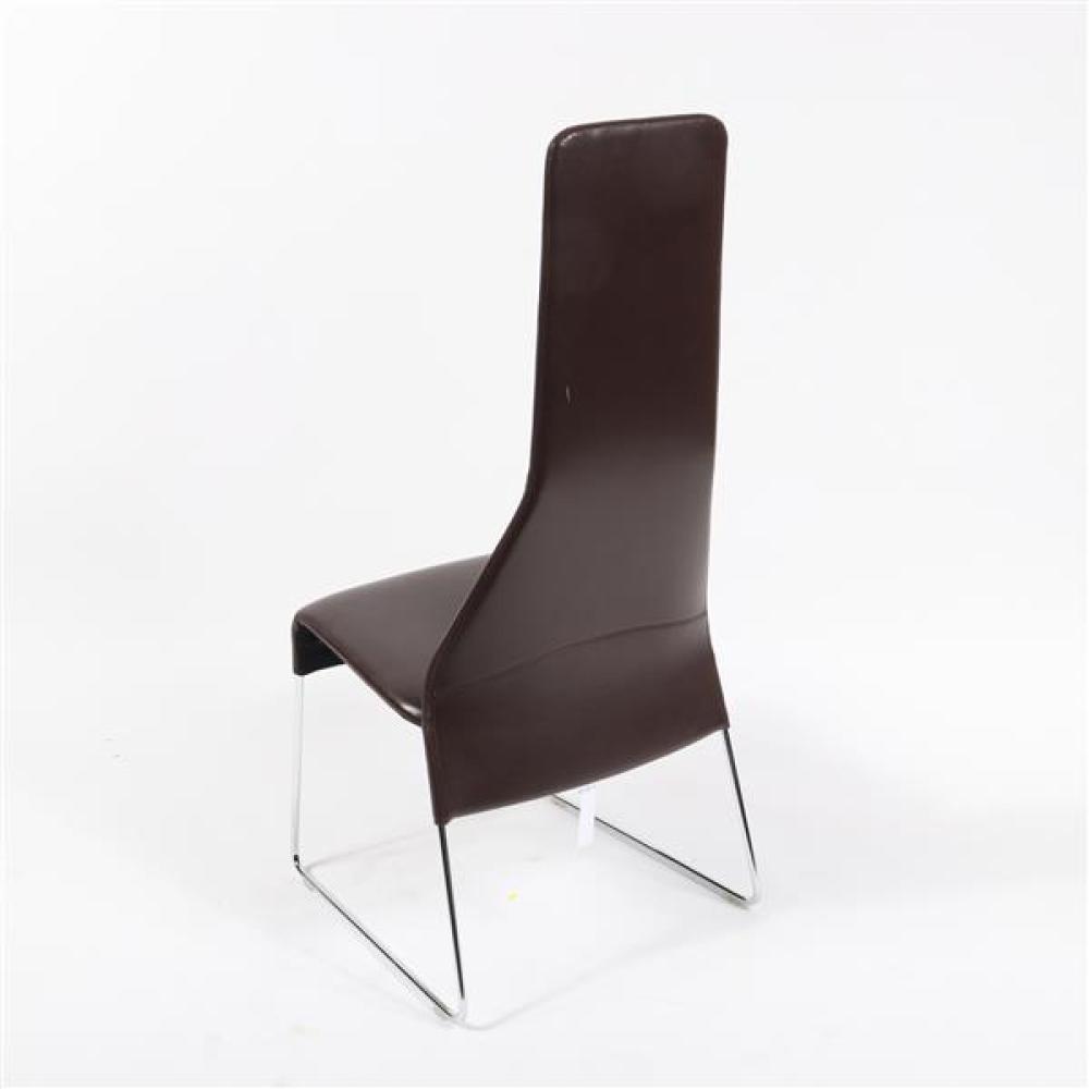 B&B Italia 'Lazy '05' high back side chair designed by Patricia Urquiola.