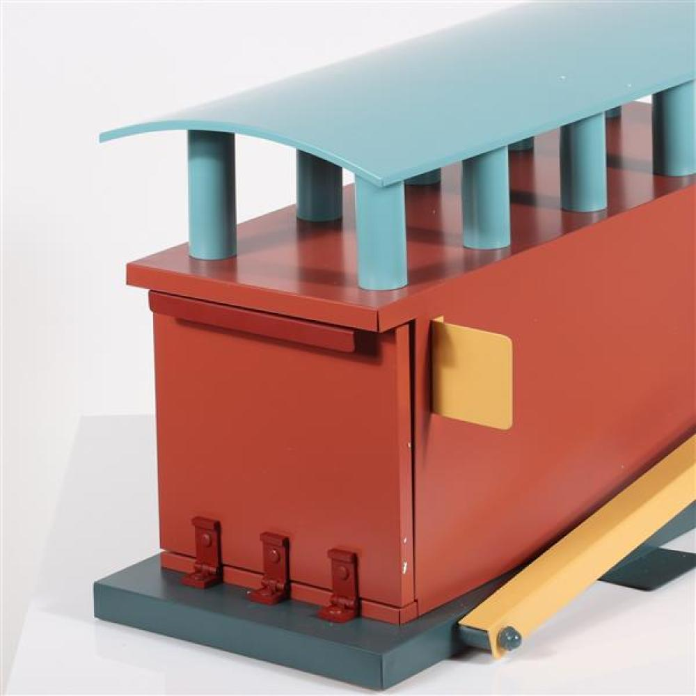 Michael Graves architectural mailbox, 1990 extremely limited edition.