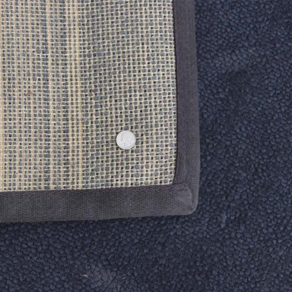 Larsen / Ruckstuhl 'Zoom' area rug, charcoal, 5x7.