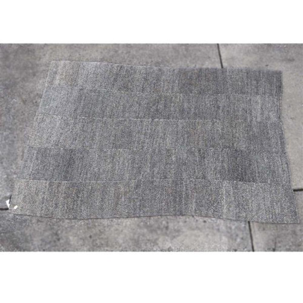 Cassina by Ruckstuhl Swiss made 'Maglia' fique woven area rug, 7x10.