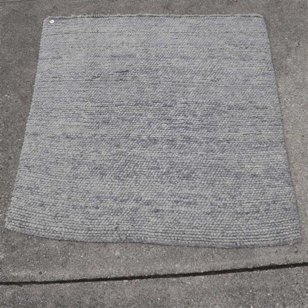 Arcade Merino wool chunky crocheted rug, 6.5x7