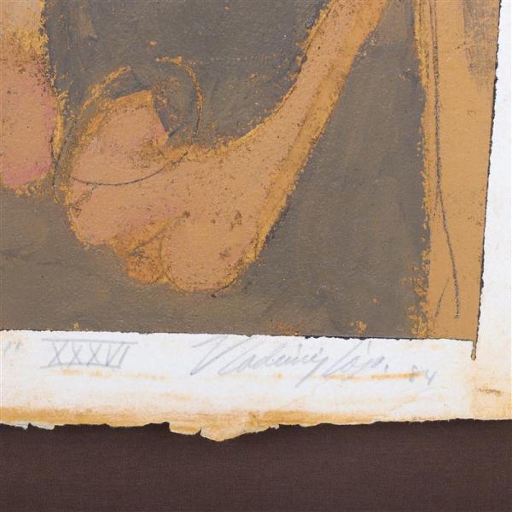 Vladimir Cora, (California / Mexico, b.1951), Dela Serie: